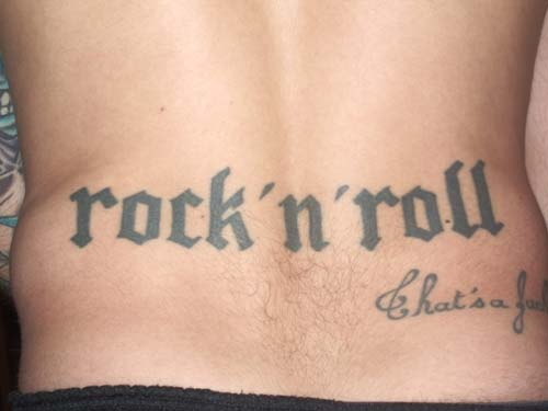 tatouage rock n roll
